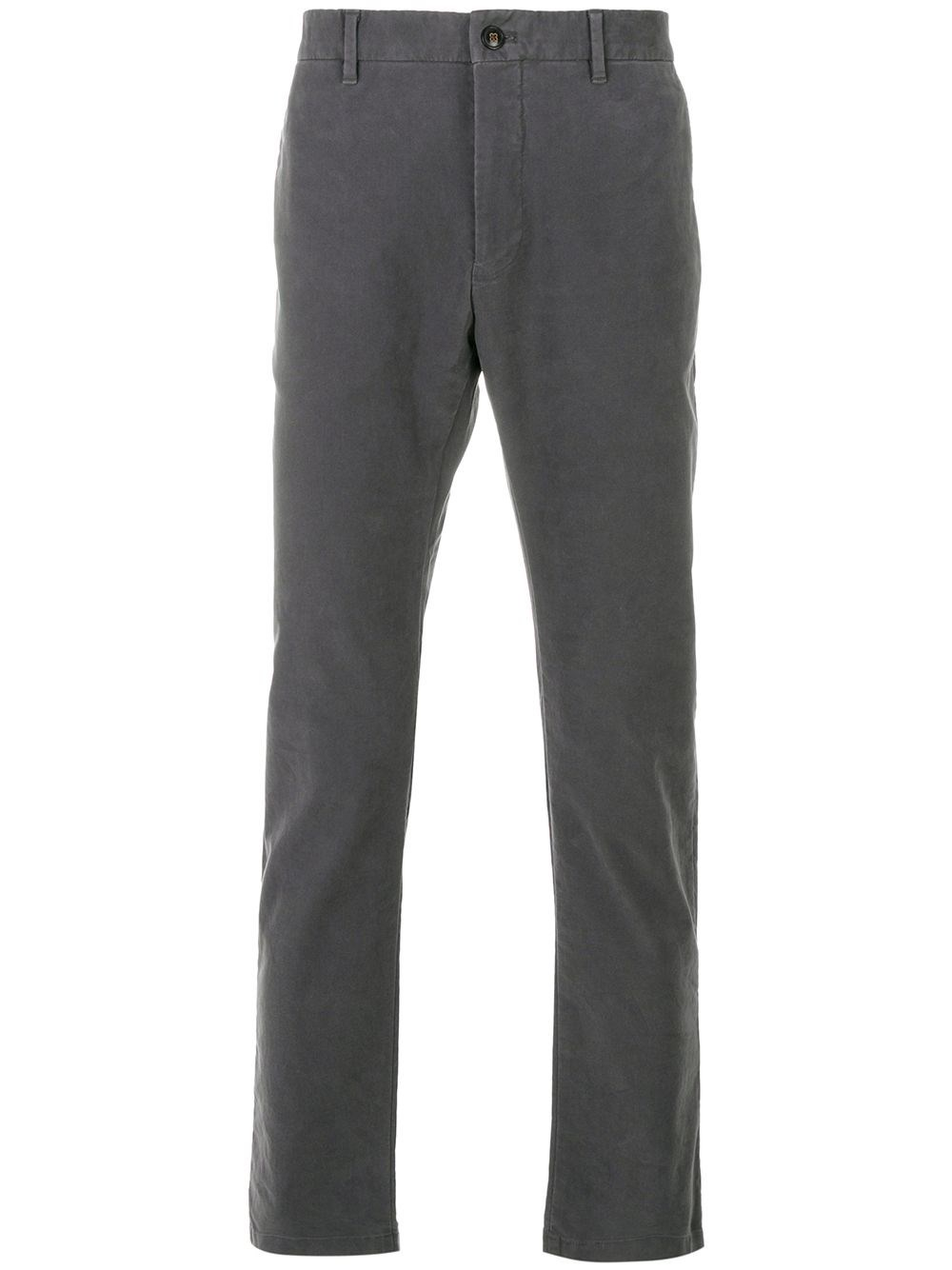 CLOSED Grey Cotton Chino Trousers