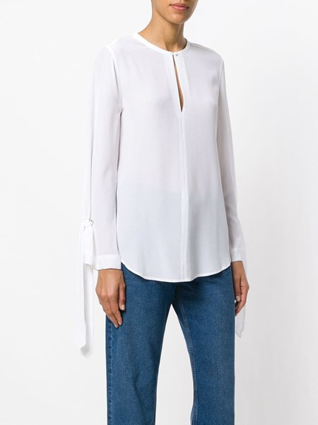 another chance e72f7 5090b Blusa in seta bianca