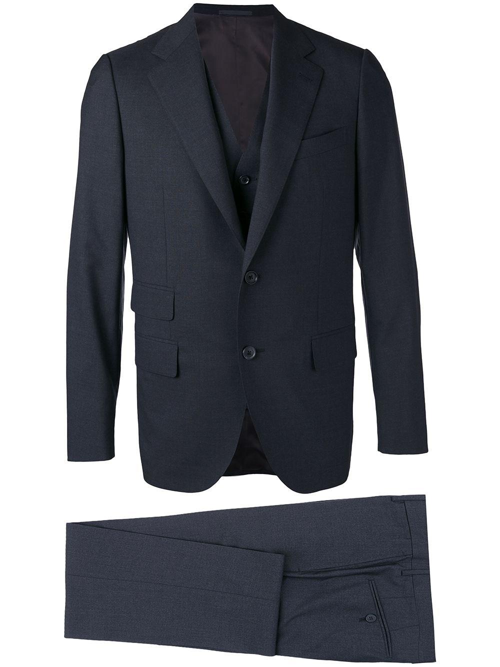 CARUSO Two-Piece Suit & Gilet