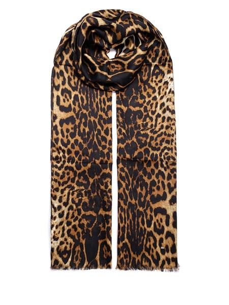rivenditore online f15d8 97557 Sciarpa stampa leopardata