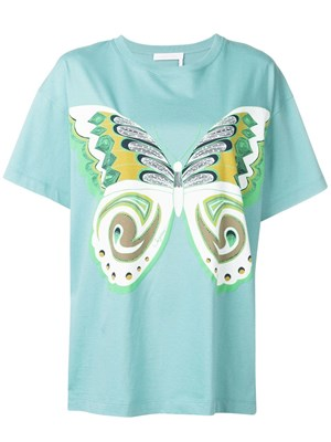 63ac31d3a3 SEE BY CHLOE  Light blue T-shirt ...