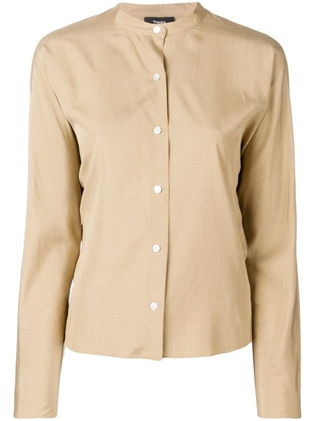 best website d0bc7 94bba Camicia con collo alla coreana