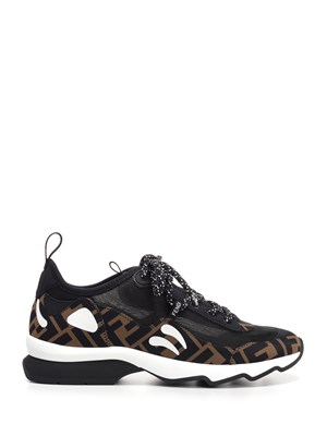 593eeff4527cb FENDI Sneakers with white details ...