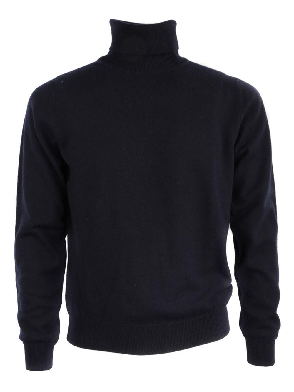 AL DUCA D'AOSTA High Neck Blu Sweater