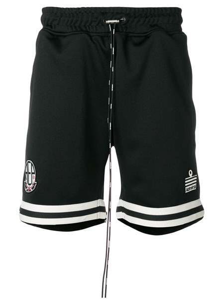 Represent Shorts striped trim shorts