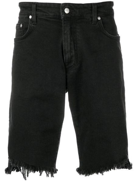 Represent Shorts frayed denim shorts