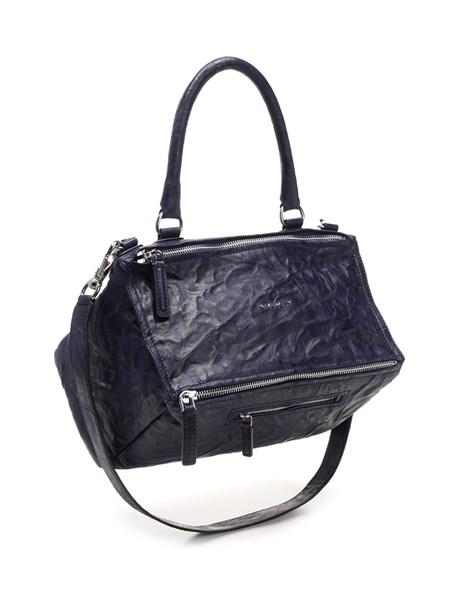 """Givenchy """"Pandora"""" Shoulder Bag In Blue Leather"""