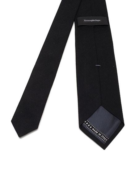 fb67607fb8 Black silk tie