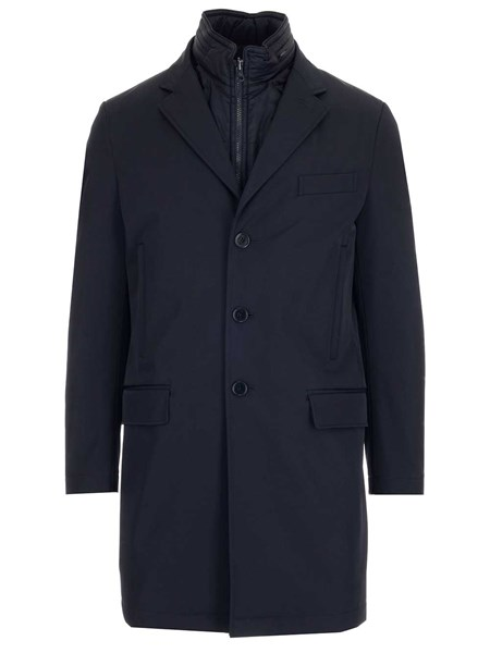 save off 6198a 0f907 Blue coat with gilet