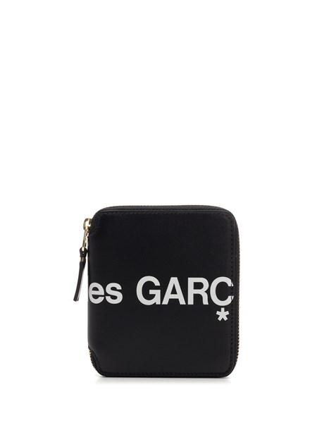 Comme Des Garçons Wallet Portafoglio con zip modello piccolo