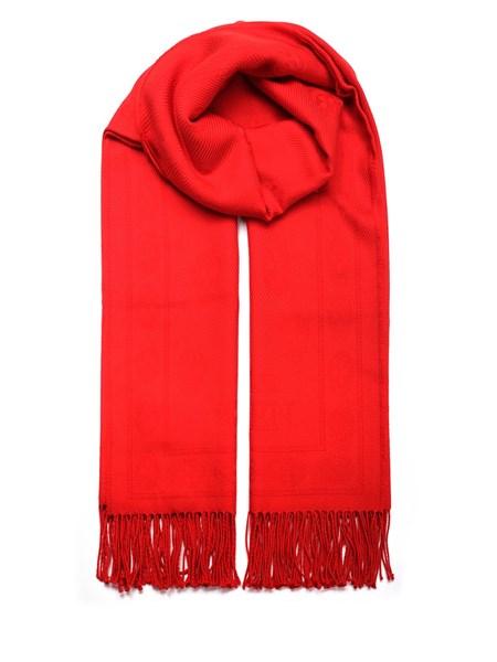 codice promozionale 1c294 5c27a sciarpa rossa in lana