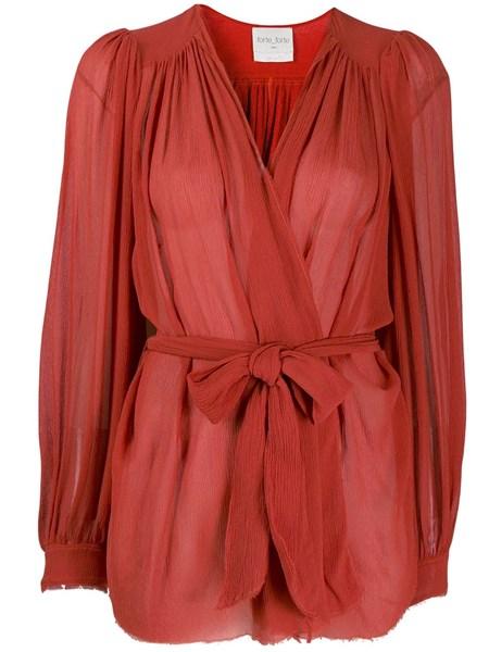 info for 7a285 440bb Camicia in seta rossa