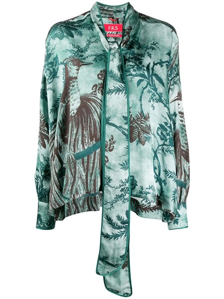 F.r.s For Restless Sleepers Alethia printed blouse