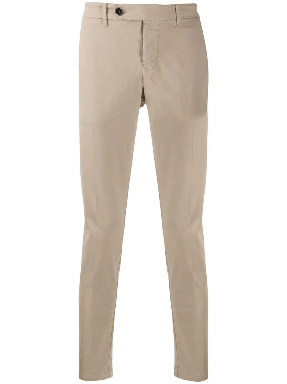 AL DUCA D'AOSTA 1902 Casual Slim Fit Cotton Trousers