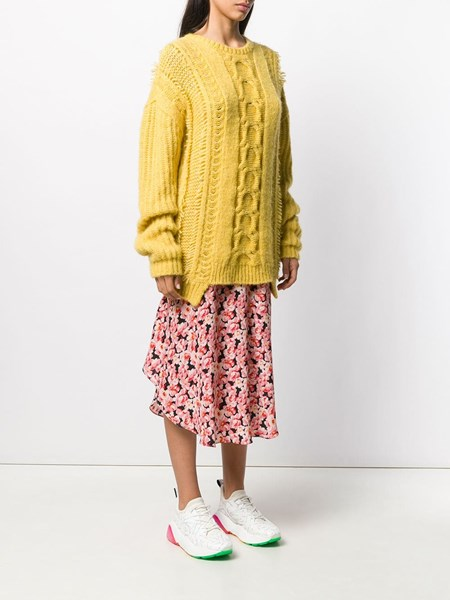 Cable knit oversize jumper