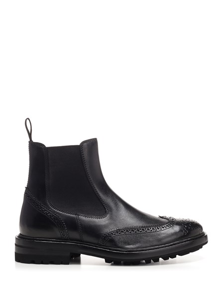 Henderson Baracco Boots Black leather boots