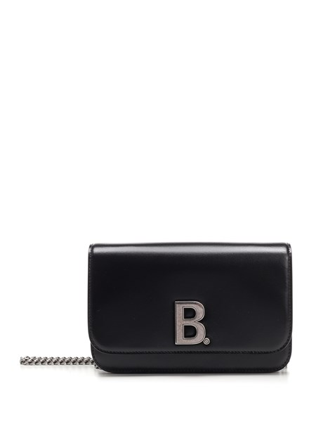 "Balenciaga Wallets ""On Chain B."" wallet with shoulder strap"