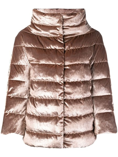 Herno Jackets Velvet puffer jacket