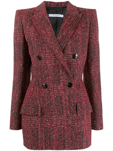 Givenchy Blazers Burgundy tailored blazer