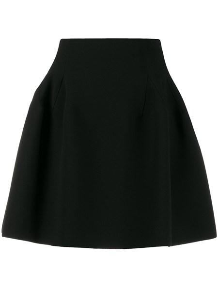 Givenchy Skirts Black tech crepe miniskirt