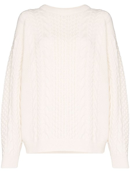 Ann Demeulemeester Knits Cable knit jumper