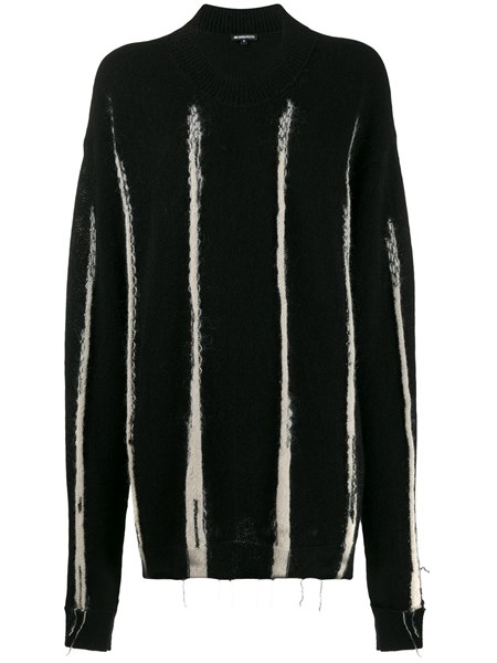 Ann Demeulemeester Knits Oversize knit sweater with extra long sleeves