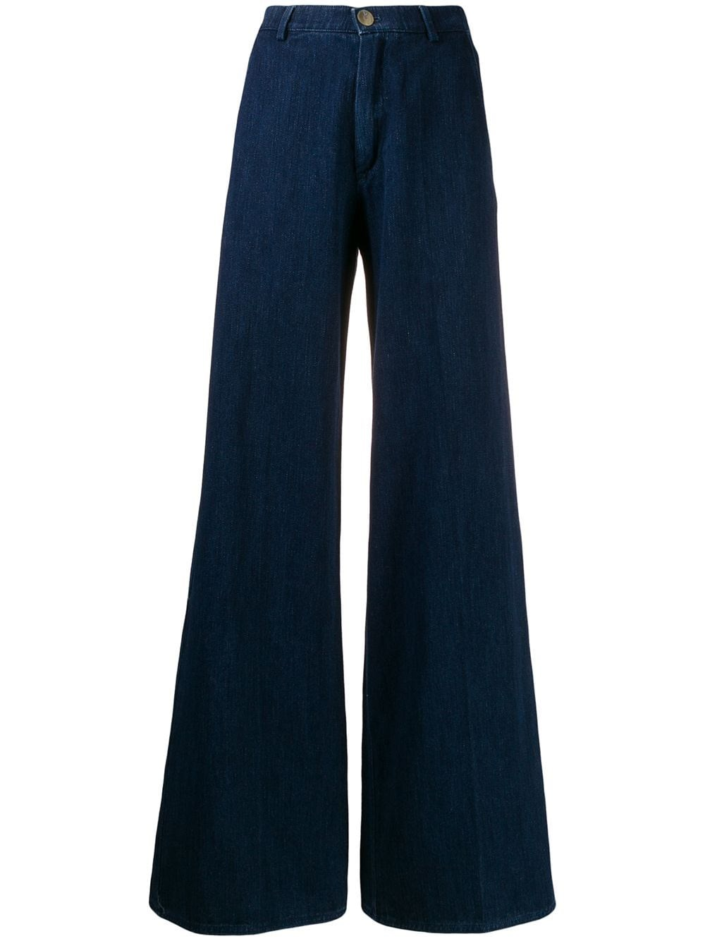 FORTE_FORTE High-Rise Wide-Leg Jeans