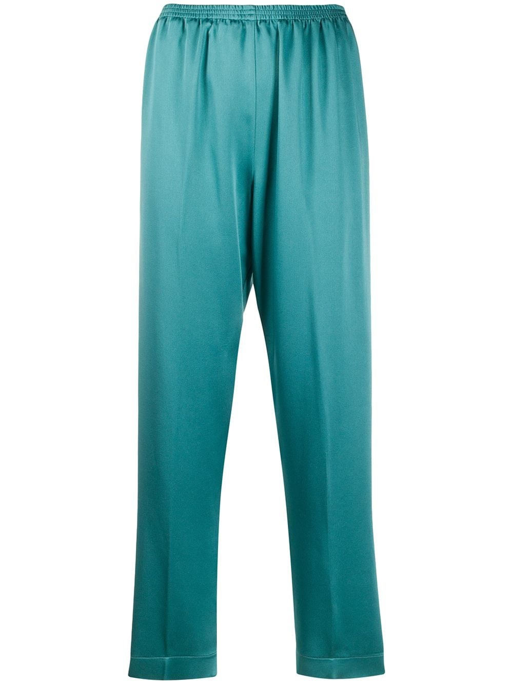 FORTE_FORTE Satin-Crepe Trousers