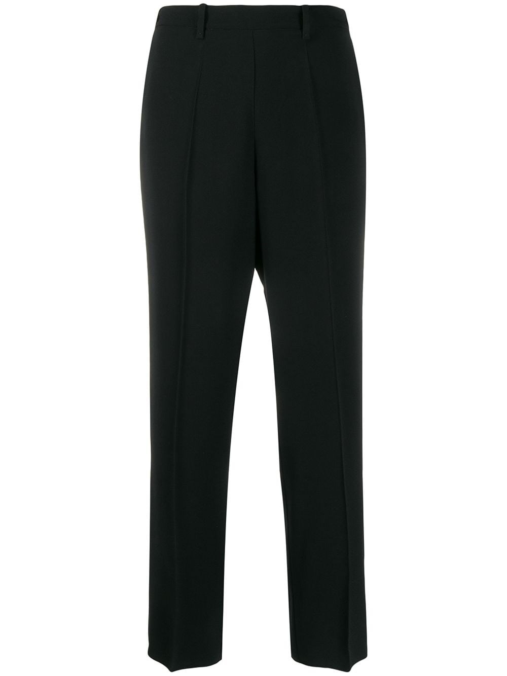 FORTE_FORTE Relaxed-Fit Straight-Leg Trousers