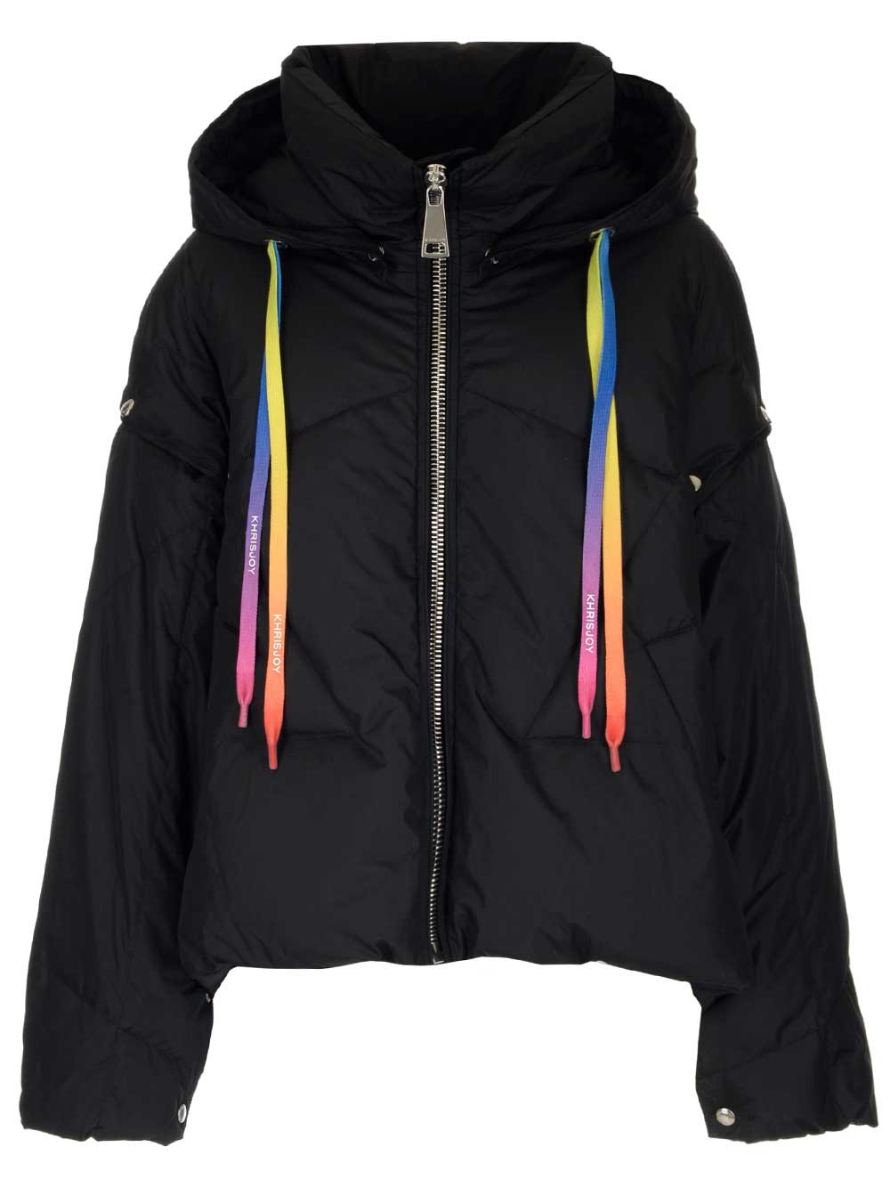 """KHRISJOY """"Khris"""" Oversized Down Jacket With Detachable Sleeves"""