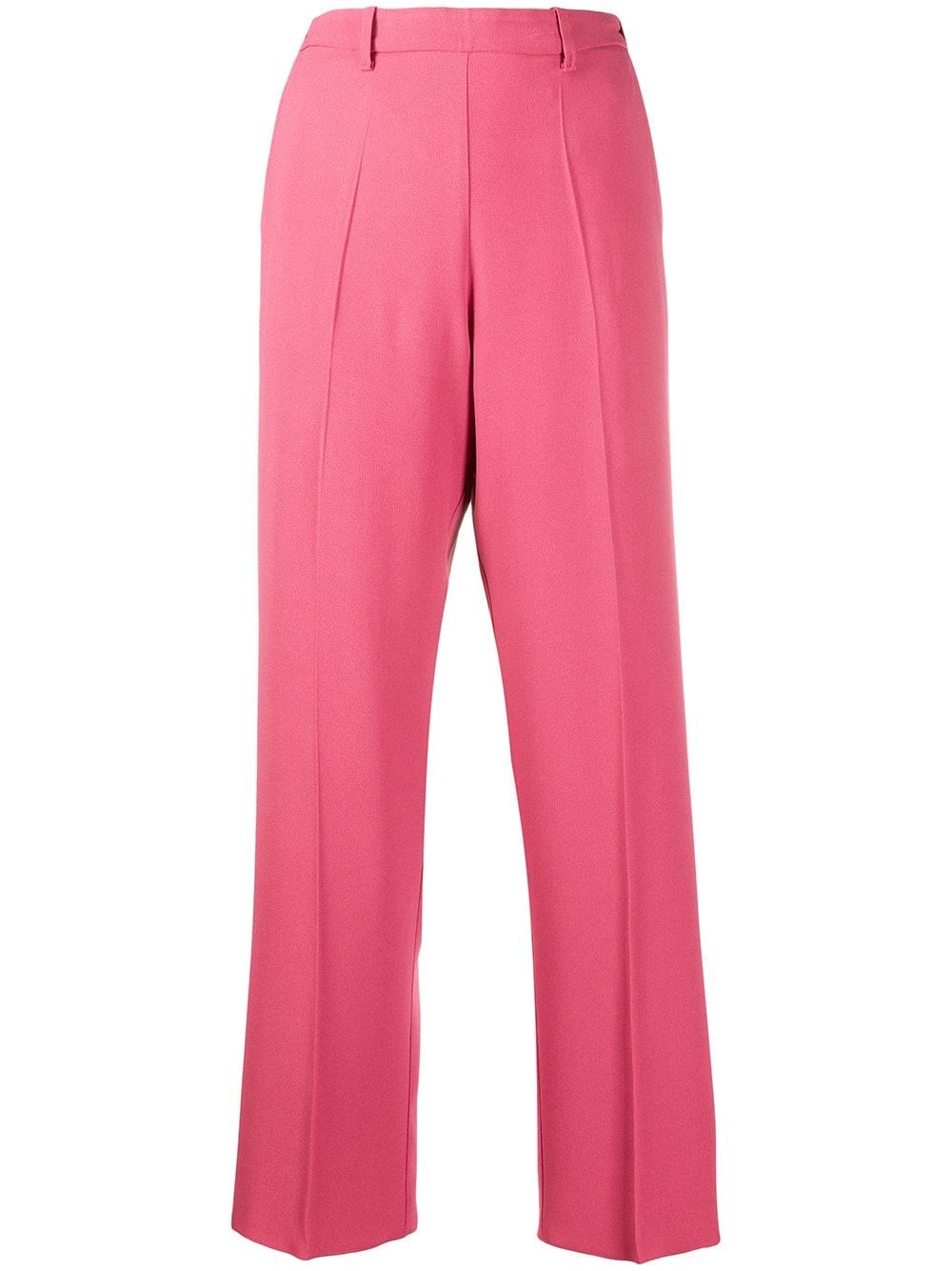 FORTE_FORTE High-Rise Straight Trousers