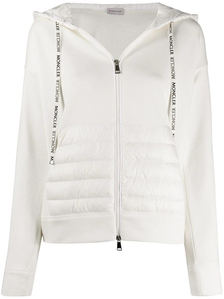 Moncler Tops White cotton hoodie