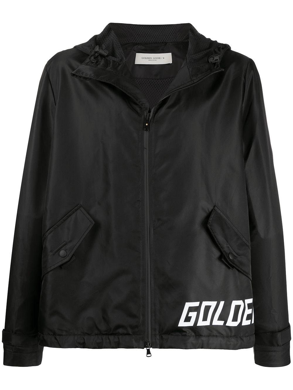GOLDEN GOOSE DELUXE BRAND Black Windbreaker