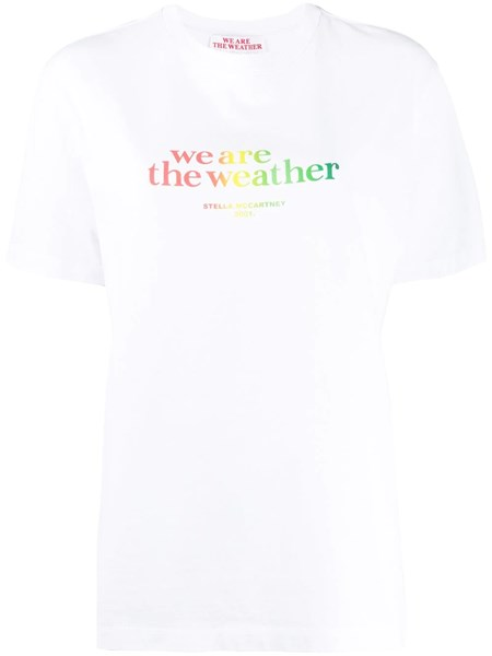 """Stella Mccartney """"We Are The Weather"""" T- shirt"""