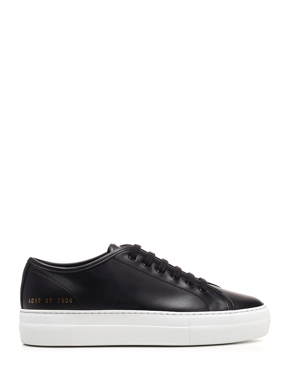 "COMMON PROJECTS Black Nappa ""Tournament"" Sneakers"
