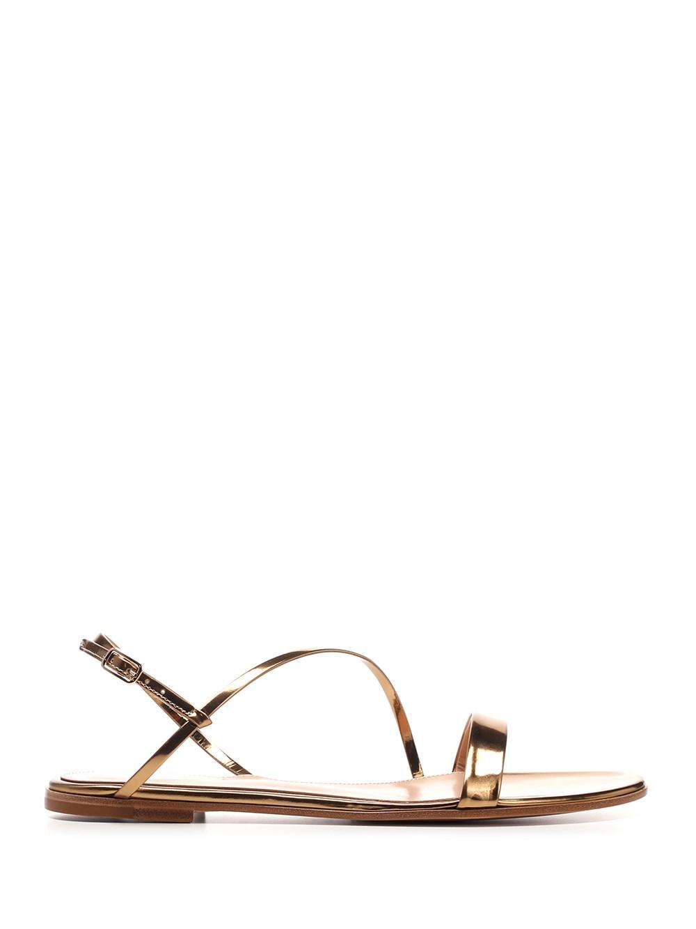"""GIANVITO ROSSI """"Manhattan"""" Flat Sandals"""