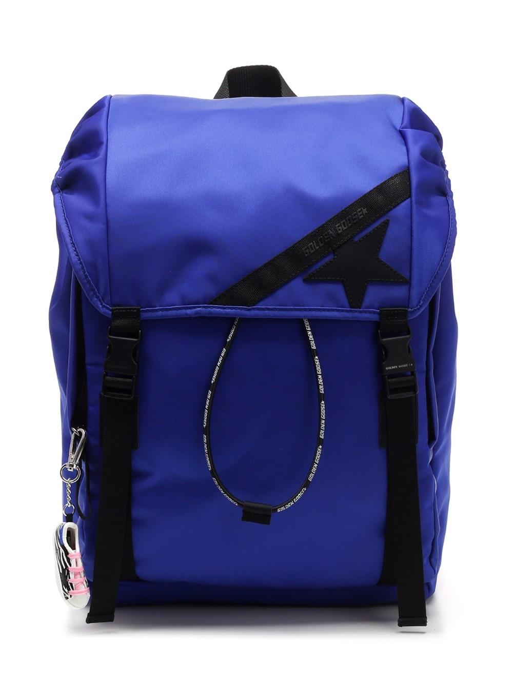 GOLDEN GOOSE DELUXE BRAND Blue Trekking Backpack