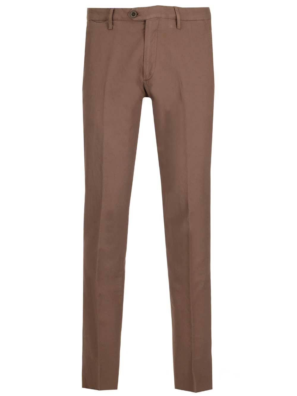 AL DUCA D'AOSTA 1902 Cotton And Linen Canvas Trousers