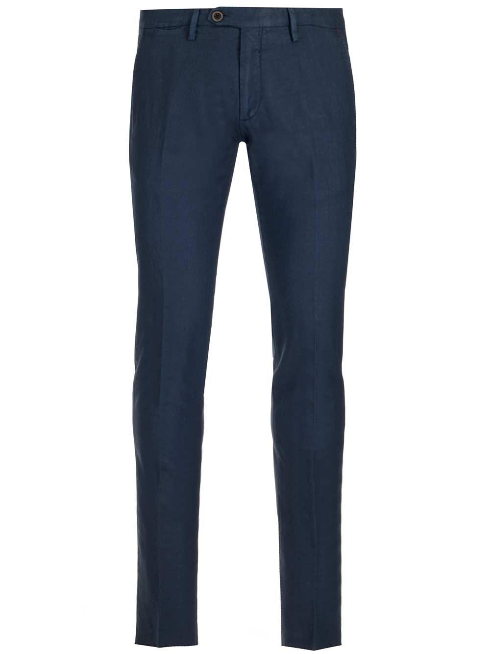 AL DUCA D'AOSTA 1902 Cotton And Linen Chino Trousers