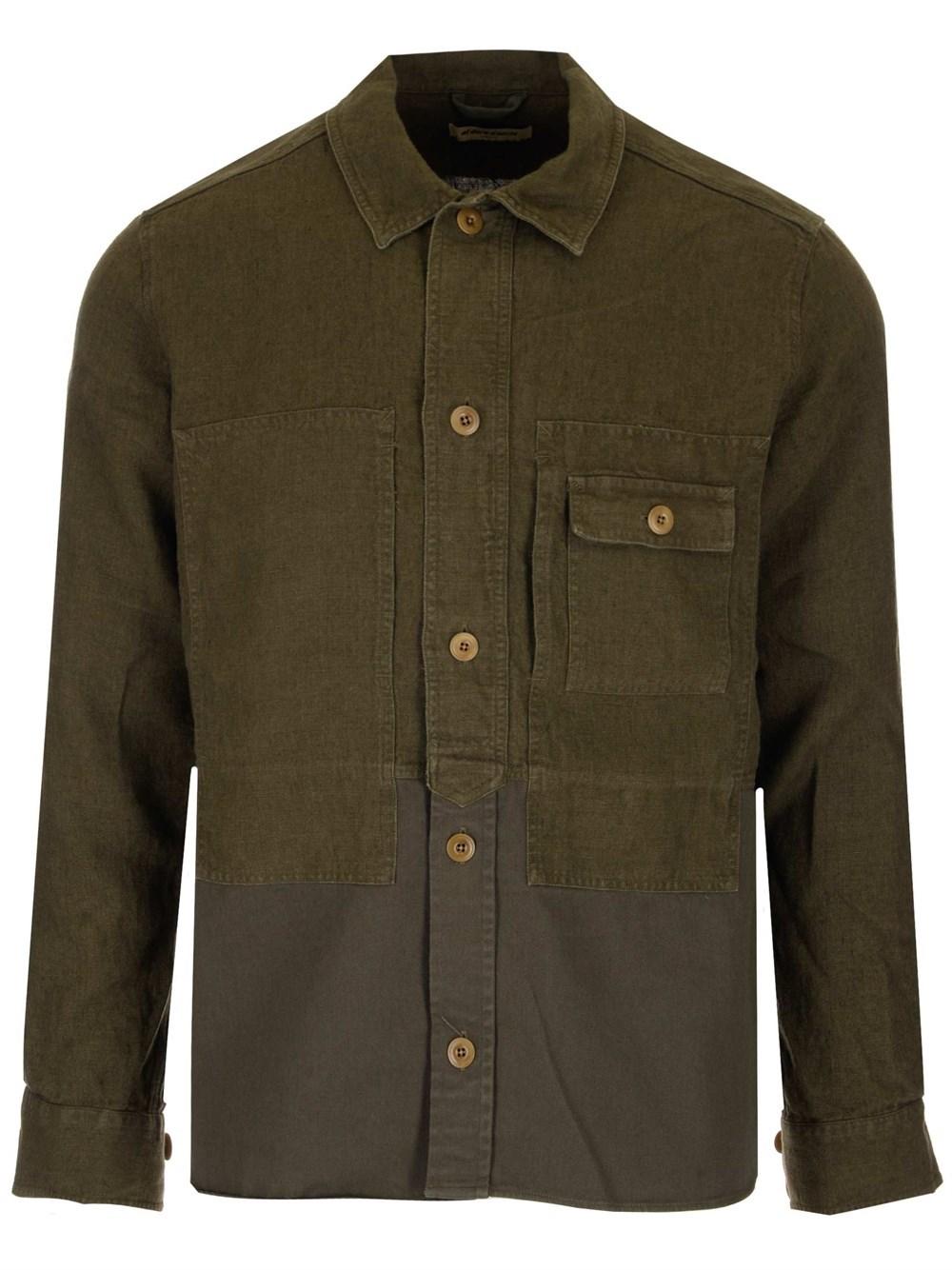 AL DUCA D'AOSTA 1902 Double Texture Shirt