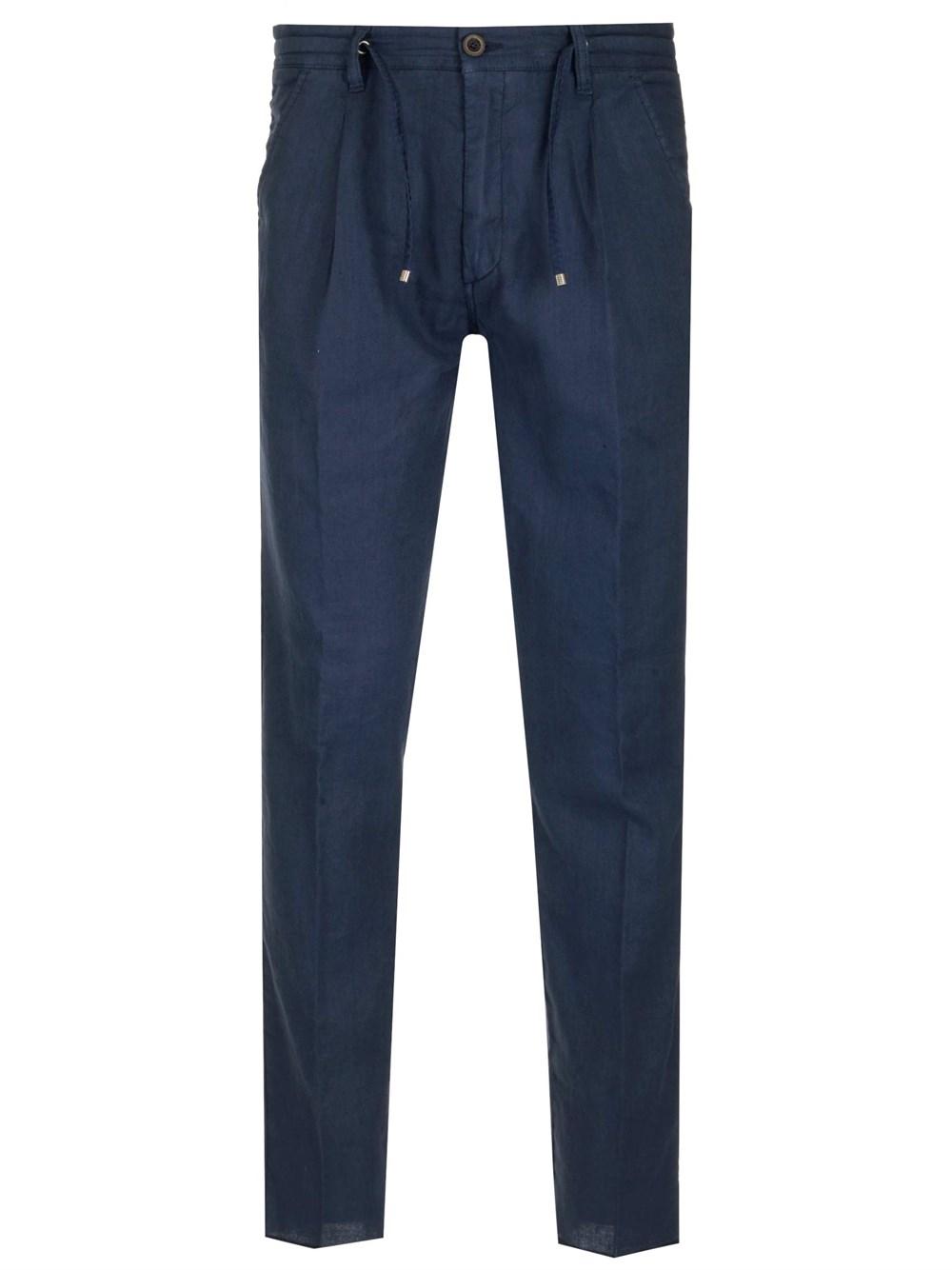 AL DUCA D'AOSTA 1902 Drawstring-Waist Cotton-Blend Trousers