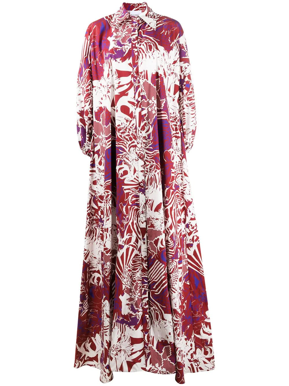 HALPERN Maxi Shirt-Dress