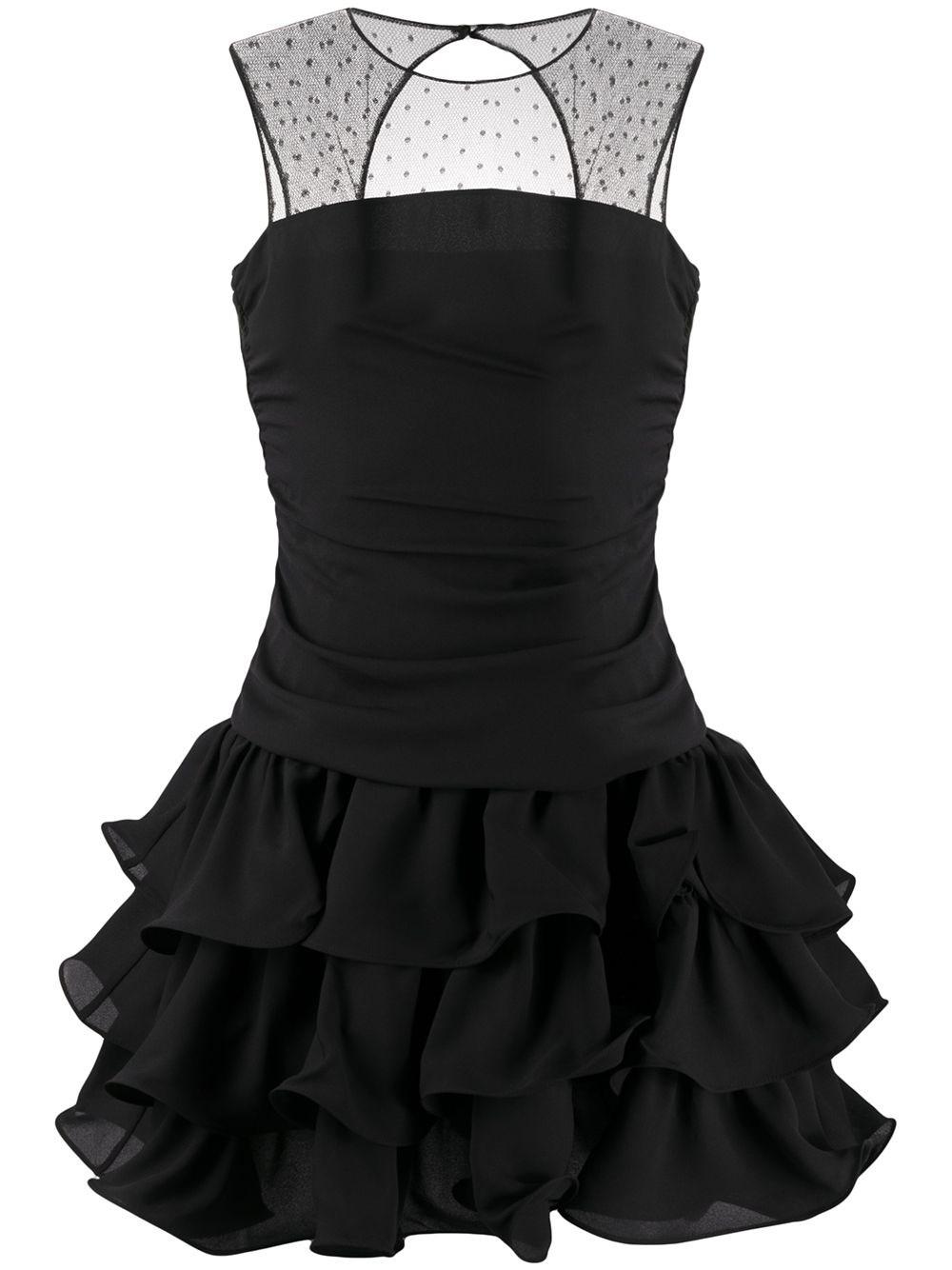 REDVALENTINO Flounced Mini Dress