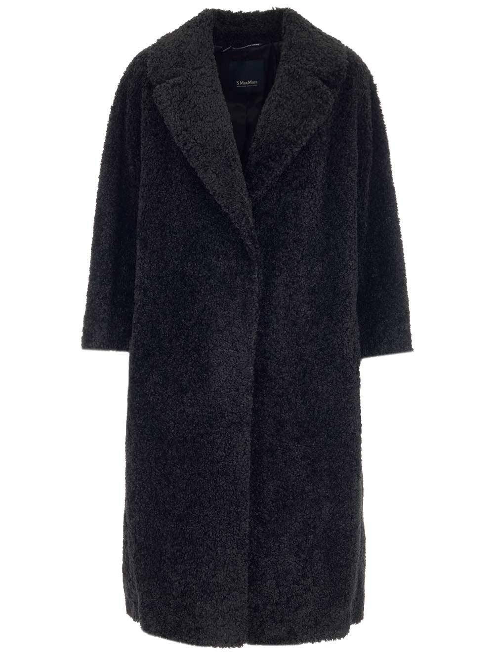 'S MAX MARA Faux Fur Coat