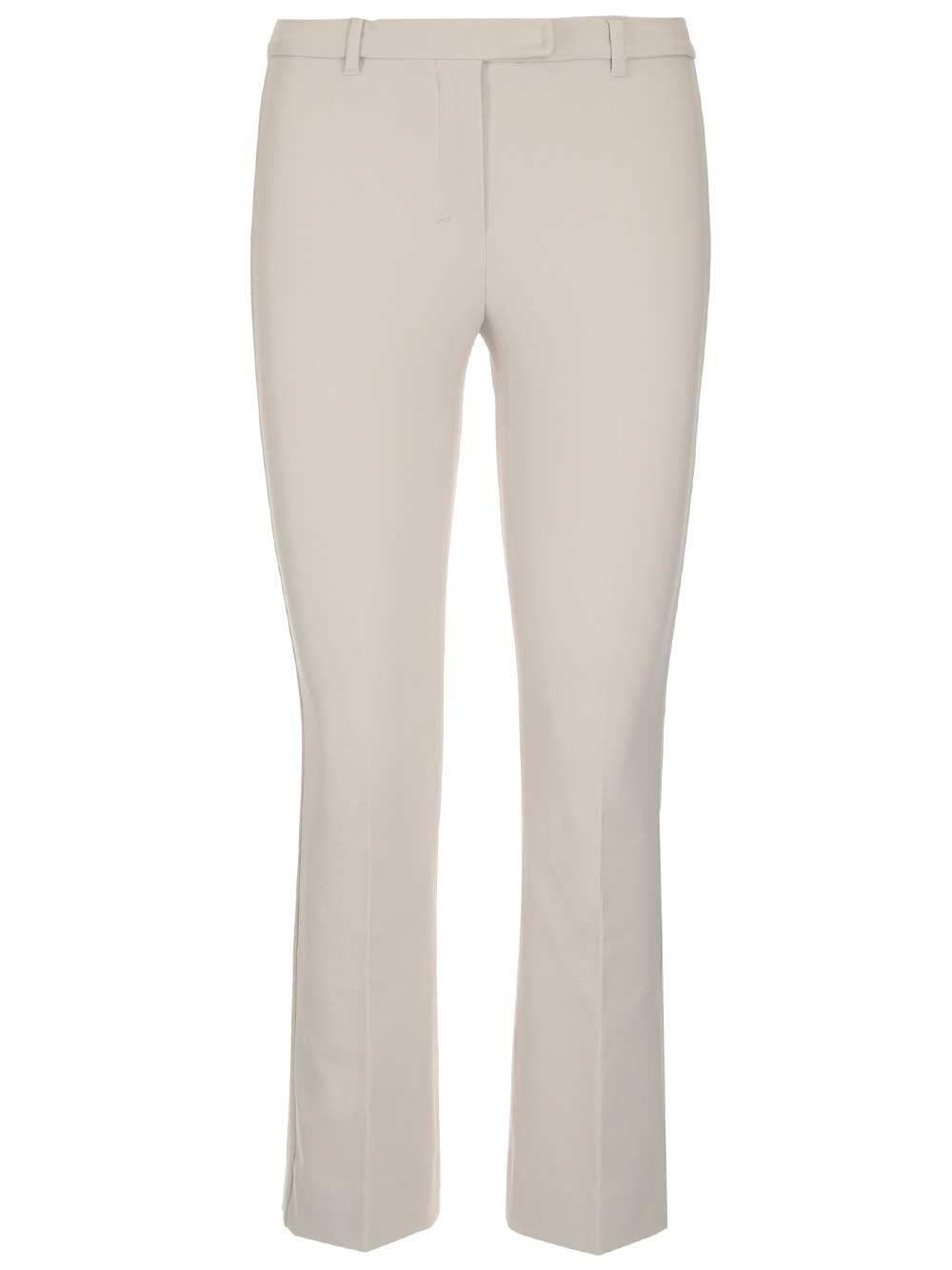 'S MAX MARA Cotton Satin Trousers