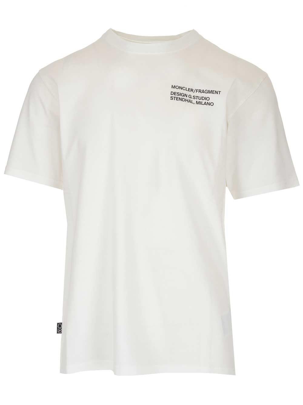 MONCLER GENIUS 7 Moncler Fragment Hiroshi Fujiwara T-Shirt