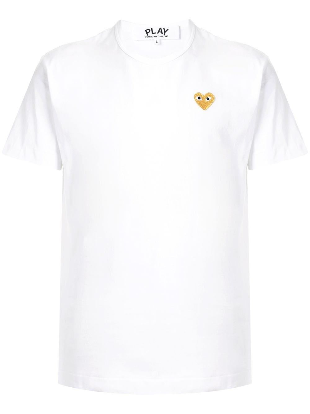 COMME DES GARCONS PLAY Golden Heart T-Shirt