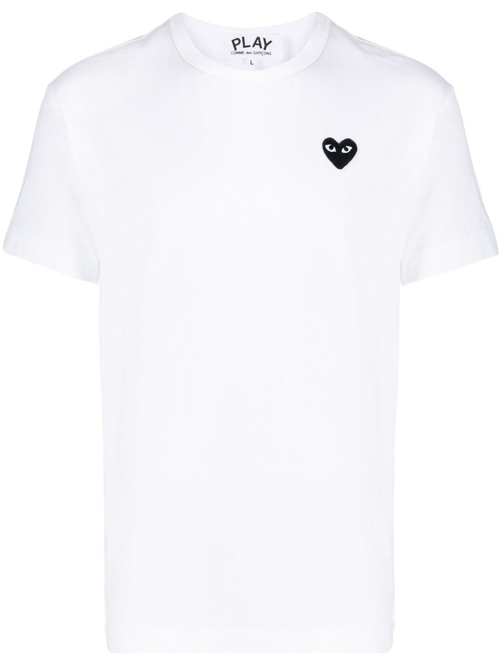 COMME DES GARCONS PLAY Small Heart Patch T-Shirt