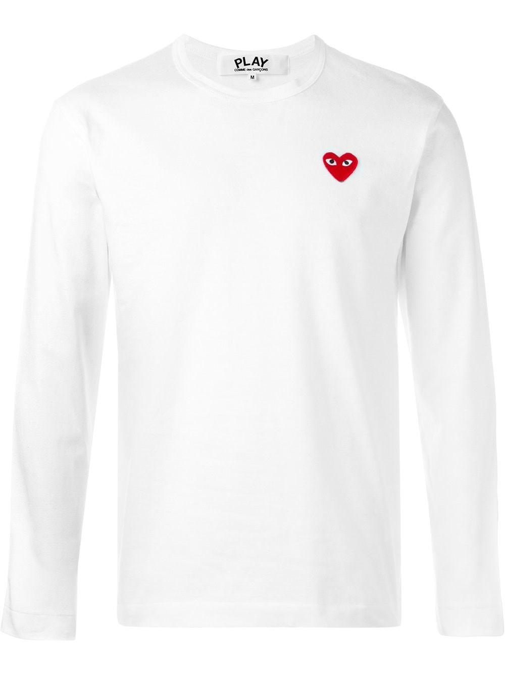 COMME DES GARCONS PLAY Long-Sleeved T-Shirt