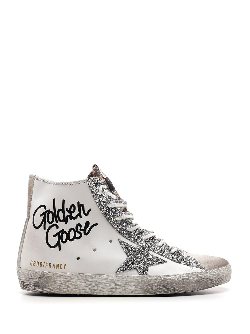 """GOLDEN GOOSE DELUXE BRAND """"Francy"""" High Top Sneakers"""